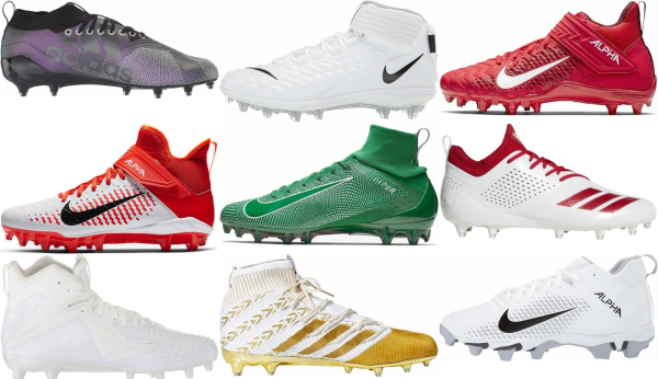 buy mid football cleats for men and women