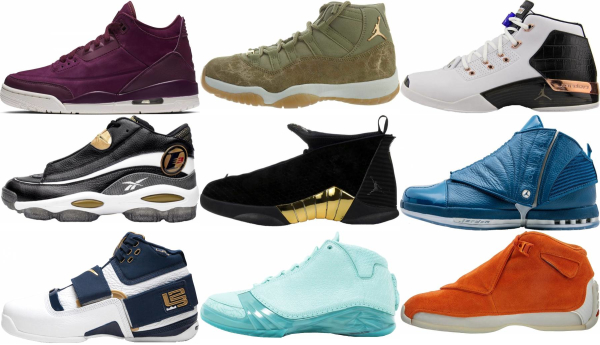 buy mid retro basketball shoes for men and women