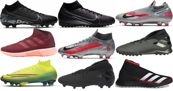 buy mid top soccer cleats for men and women