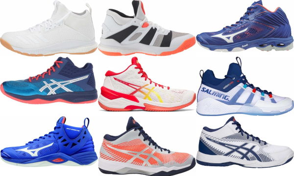 buy mid volleyball shoes for men and women