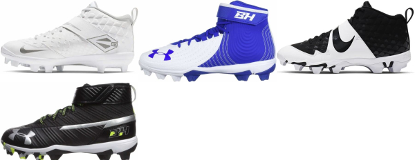 buy mixed baseball cleats for men and women
