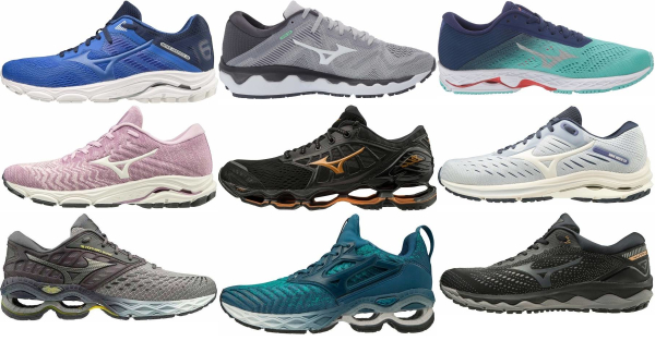 buy mizuno cushioned running shoes for men and women