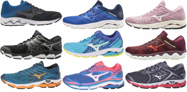 buy mizuno flat feet running shoes for men and women