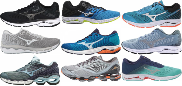 buy mizuno high arch running shoes for men and women
