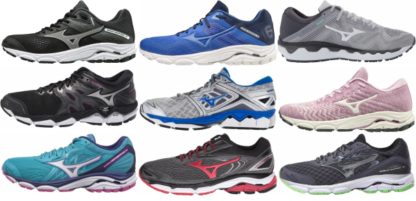buy mizuno overpronation running shoes for men and women
