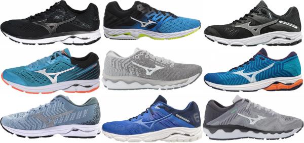 buy mizuno road running shoes for men and women