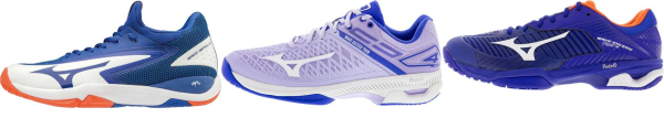 buy mizuno tennis shoes for men and women