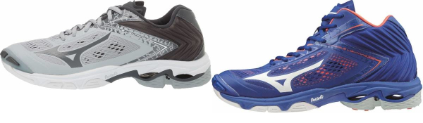 buy mizuno wave lightning volleyball shoes for men and women