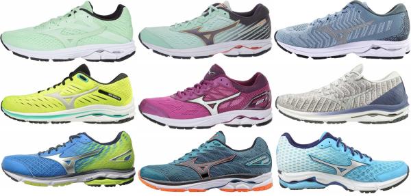 buy mizuno wave rider running shoes for men and women