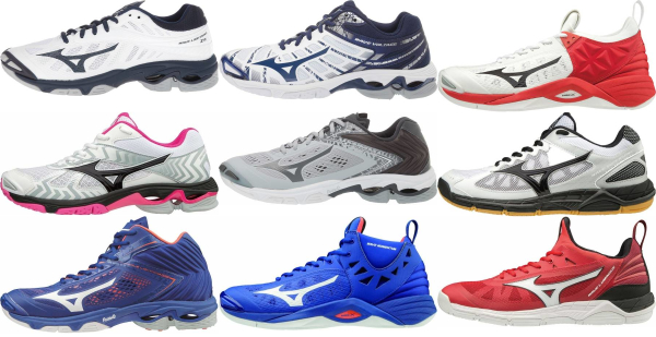 buy mizuno wave volleyball shoes for men and women