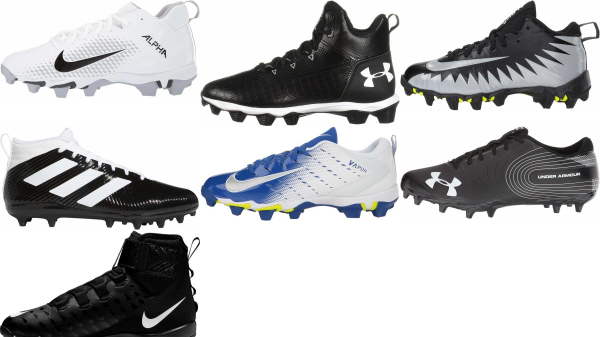 buy molded cheap football cleats for men and women