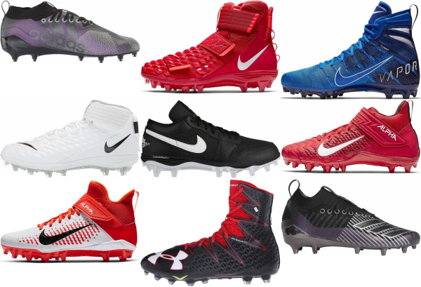 buy molded football cleats for men and women