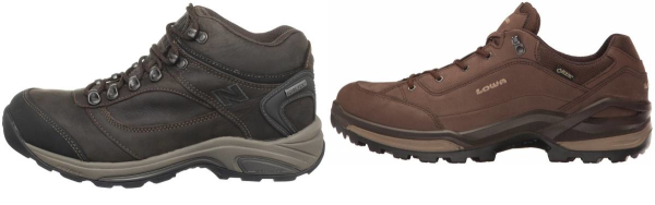 buy narrow gore-tex hiking shoes for men and women