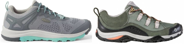 buy narrow lightweight hiking shoes for men and women
