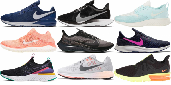 buy narrow nike running shoes for men and women