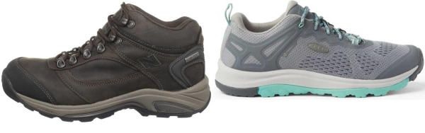 buy narrow orthotic friendly hiking shoes for men and women