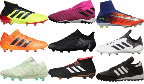 buy narrow soccer cleats for men and women