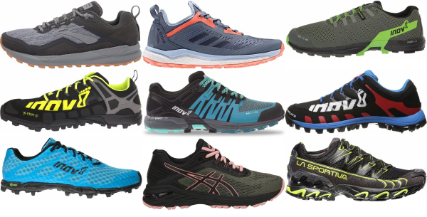 buy narrow trail running shoes for men and women
