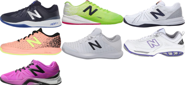 buy new balance all court tennis shoes for men and women