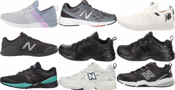 buy new balance cross-training shoes for men and women