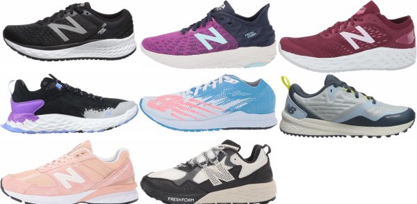 buy new balance cushioned running shoes for men and women
