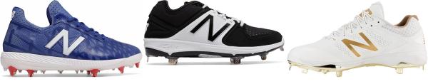 buy new balance fantom fit baseball cleats for men and women