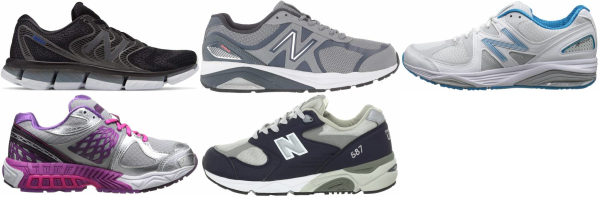buy new balance flat feet running shoes for men and women