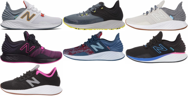 buy new balance fresh foam roav running shoes for men and women