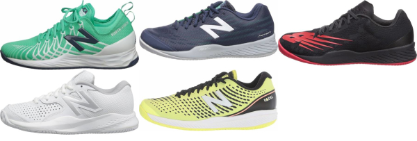 buy new balance hard court tennis shoes for men and women