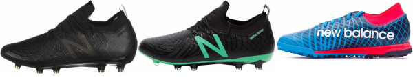 buy new balance kinetic stitch soccer cleats for men and women