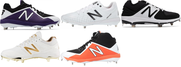 buy new balance metal baseball cleats for men and women