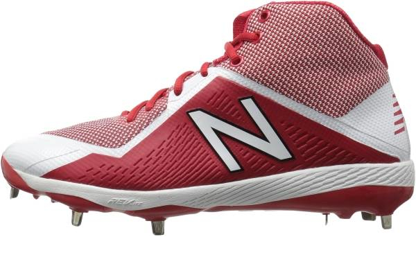 buy new balance red baseball cleats for men and women
