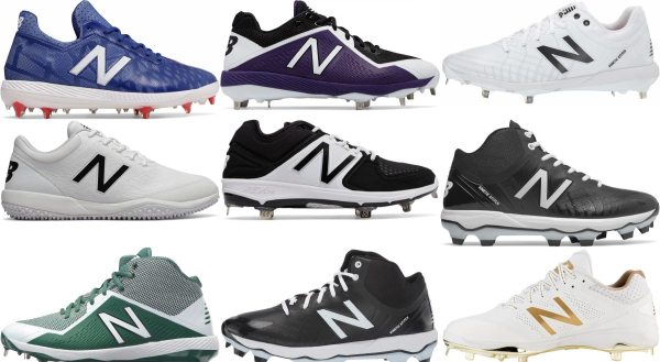 buy new balance revlite baseball cleats for men and women