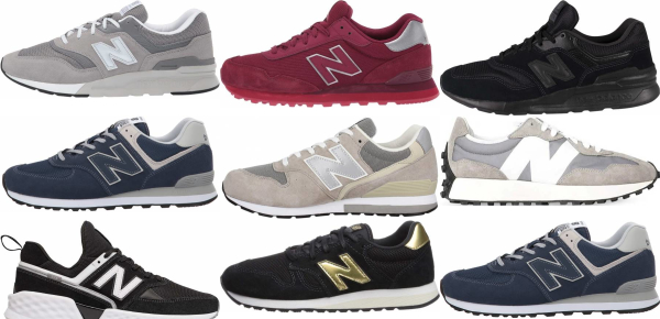 buy new balance suede sneakers for men and women