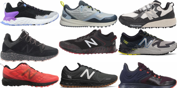 buy new balance trail running shoes for men and women