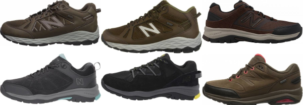 buy new balance trail walking shoes for men and women