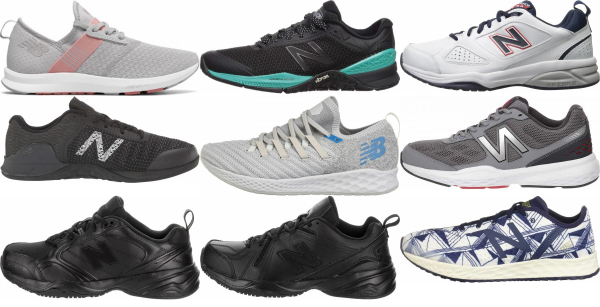 buy new balance training shoes for men and women