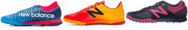 buy new balance turf soccer cleats for men and women