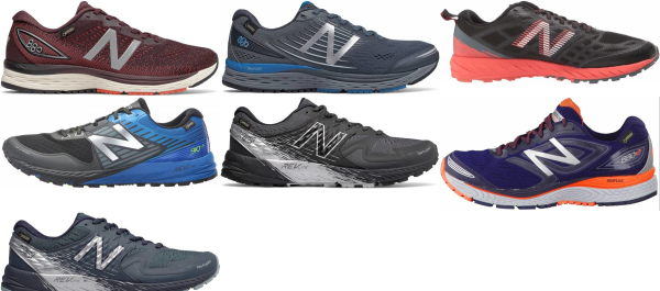 buy new balance waterproof running shoes for men and women