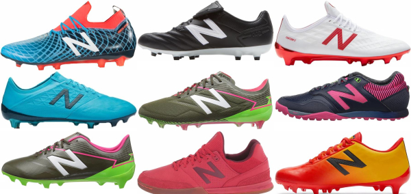 buy new balance wide soccer cleats for men and women