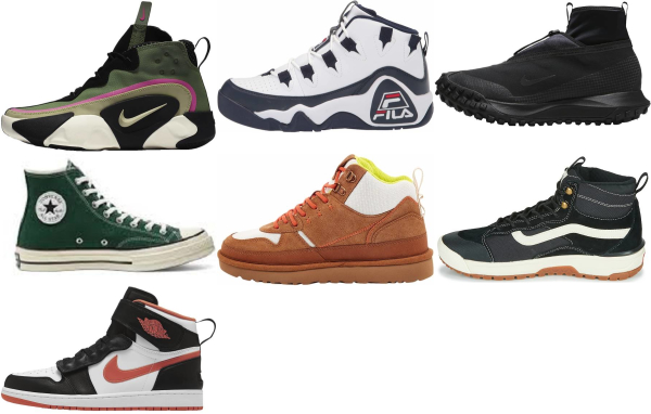 buy new high top sneakers for men and women