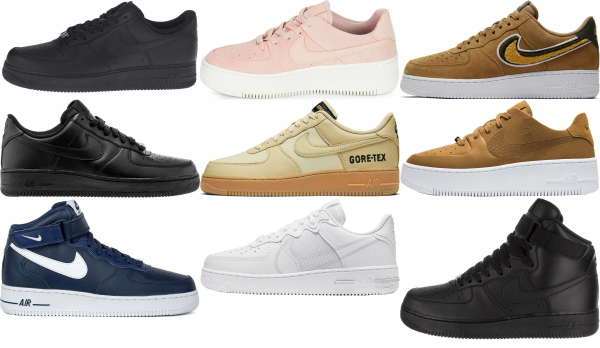 energía paciente agrio  Nike Air Force 1 Sneakers (58 Models in Stock) | RunRepeat