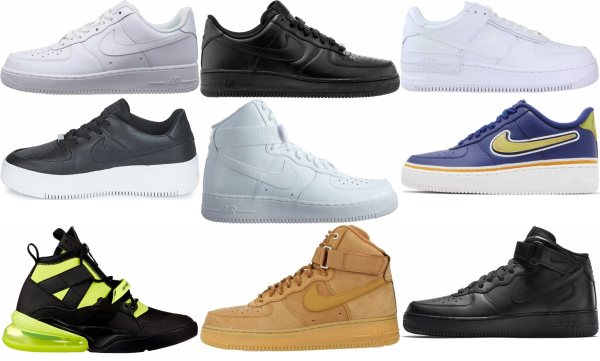 buy nike air force sneakers for men and women