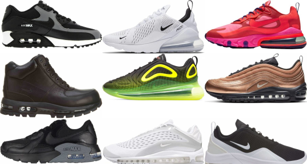 buy nike air max sneakers for men and women