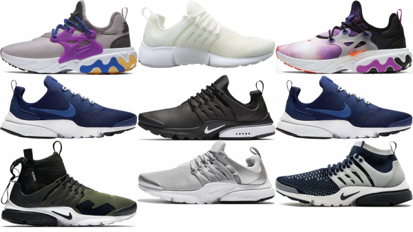 buy nike air presto sneakers for men and women