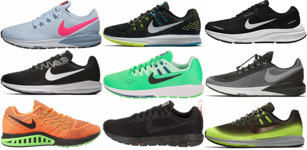 buy nike air zoom structure running shoes for men and women