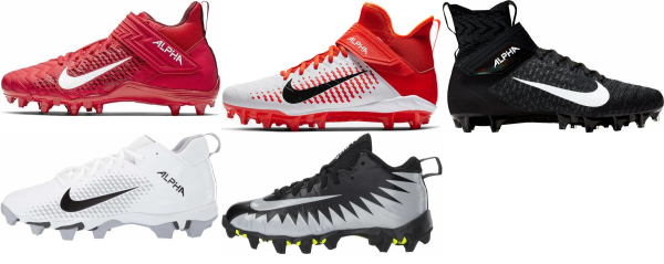 buy nike alpha football cleats for men and women