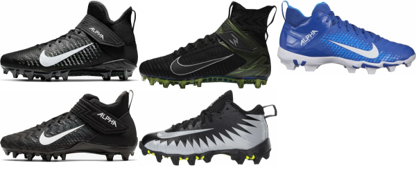 buy nike alpha menace football cleats for men and women