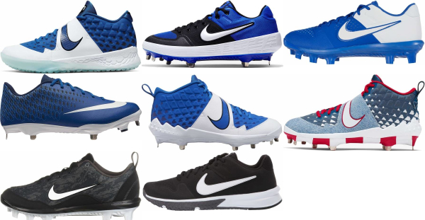 buy nike blue baseball cleats for men and women