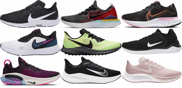 buy nike breathable running shoes for men and women